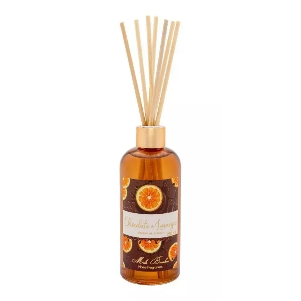 Difusor De Aromas 250 Ml Equilíbrio - Chocolate e Laranja - Mels Brushes