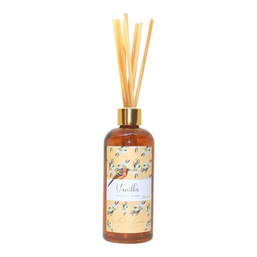 Difusor De Aromas 250 Ml Equilíbrio - Vanilla - Mels Brushes