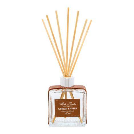 Difusor De Aromas 350 Ml Luxo - Cereja E Avelã - Mels Brushes
