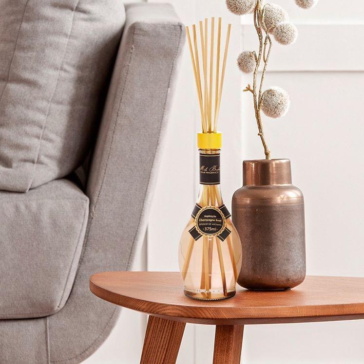 Difusor Drinks - Champagne Rose 375 Ml - Mels Brushes