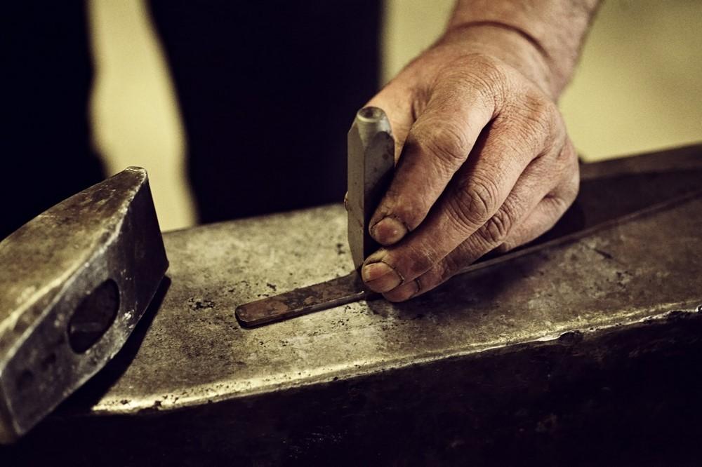 Faca Artesanal De Chef Y1 Hohenmoorer Em Aço Damasco 19Cm