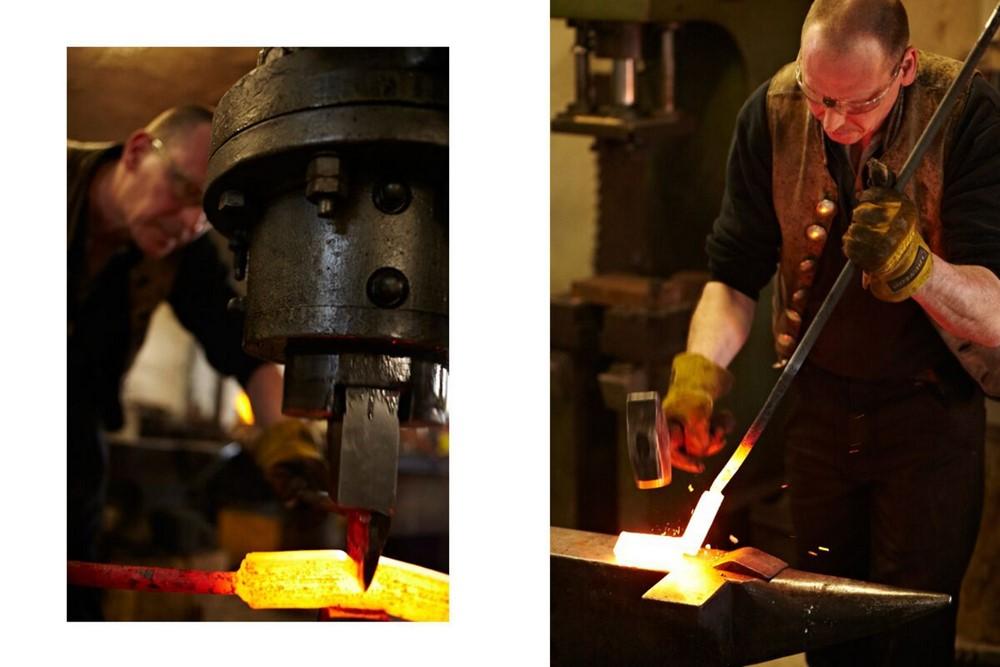 Faca Artesanal De Chef Y1 Hohenmoorer Tripla Camada De Aço Carbono 19Cm