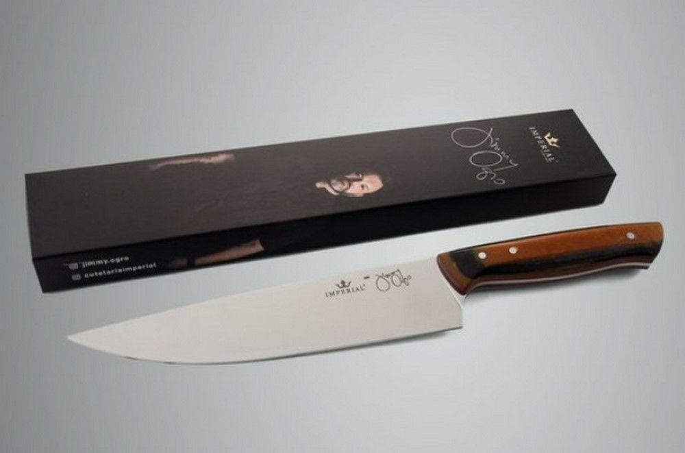 Faca Chef Jimmy 205 Micarta Especial - Imperial Cutelaria