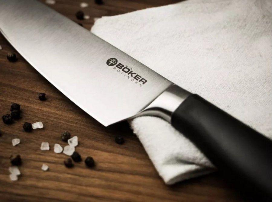 Faca De Chef Böker Core Professional Com Cabo Sintético