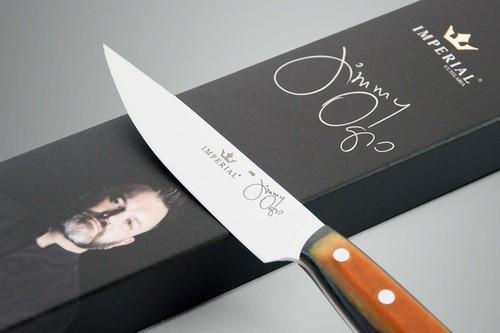 Faca De Descascar Chef Jimmy Ogro 100 Micarta Especial - Imperial Cutelaria