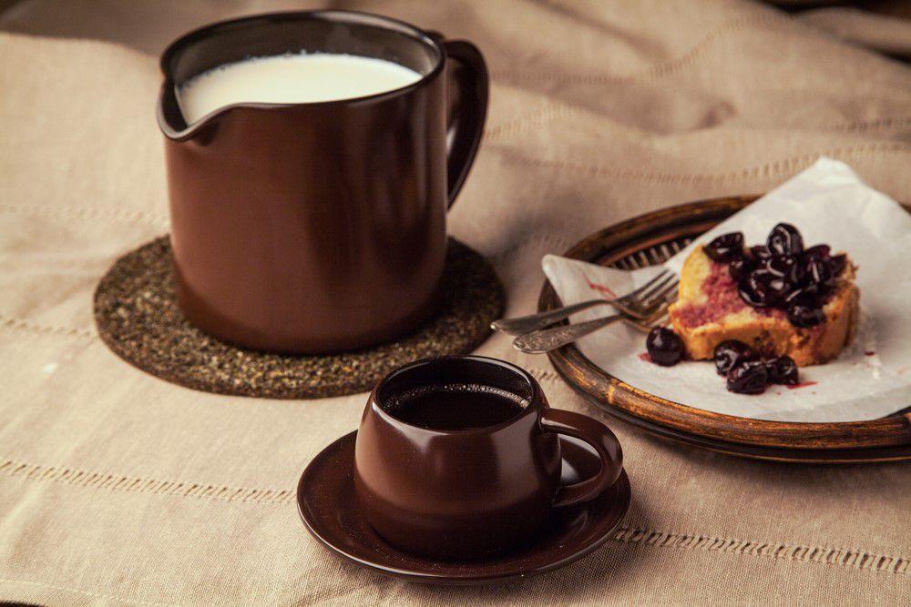Leiteira Fervedor De Cerâmica Ceraflame 1000Ml Chocolate