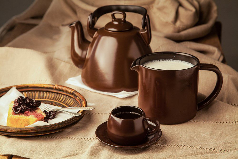 Fervedor De Cerâmica Ceraflame 1000Ml Chocolate