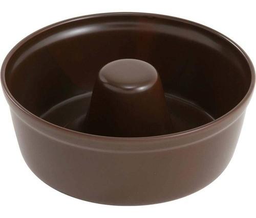 Forma De Cerâmica Ceraflame Para Bolo 23Cm 1800Ml Chocolate