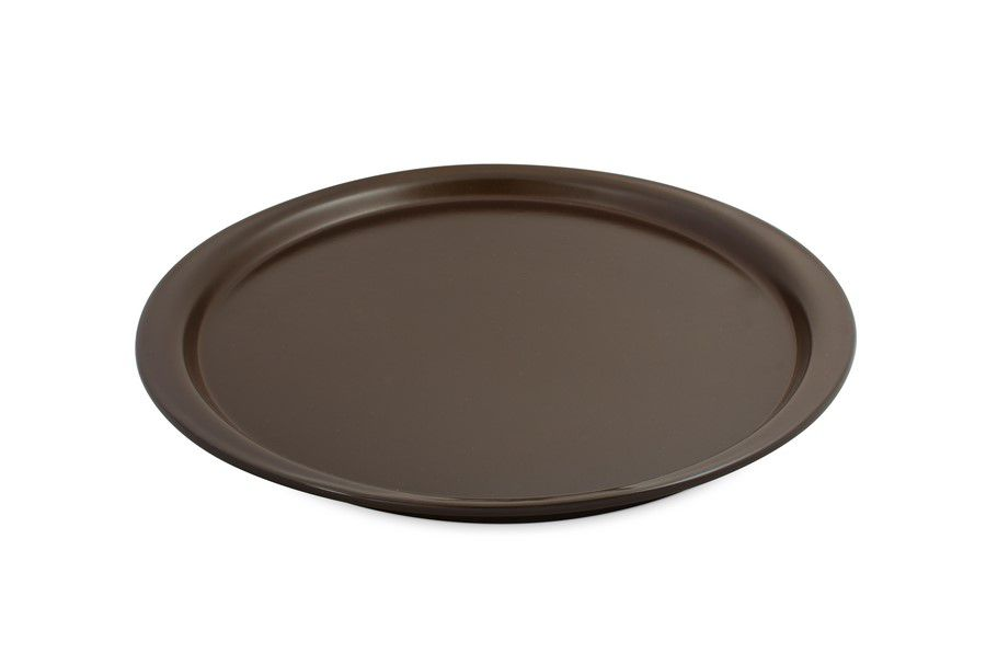 Forma De Cerâmica Ceraflame Para Pizza 28Cm Chocolate
