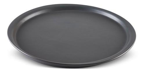 Forma De Cerâmica Ceraflame Para Pizza 32,5Cm Grafite