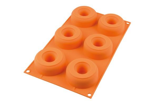 Forma De Silicone Para Donuts - Silikomart