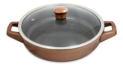 Frigideira Com Alça De Cerâmica Ceraflame 28cm 2500ml Duo Cobre