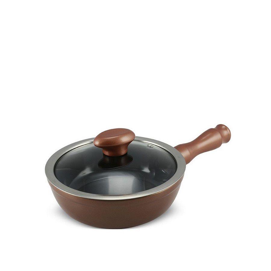 Frigideira De Cerâmica Ceraflame Chef 18Cm 900Ml  - Cobre