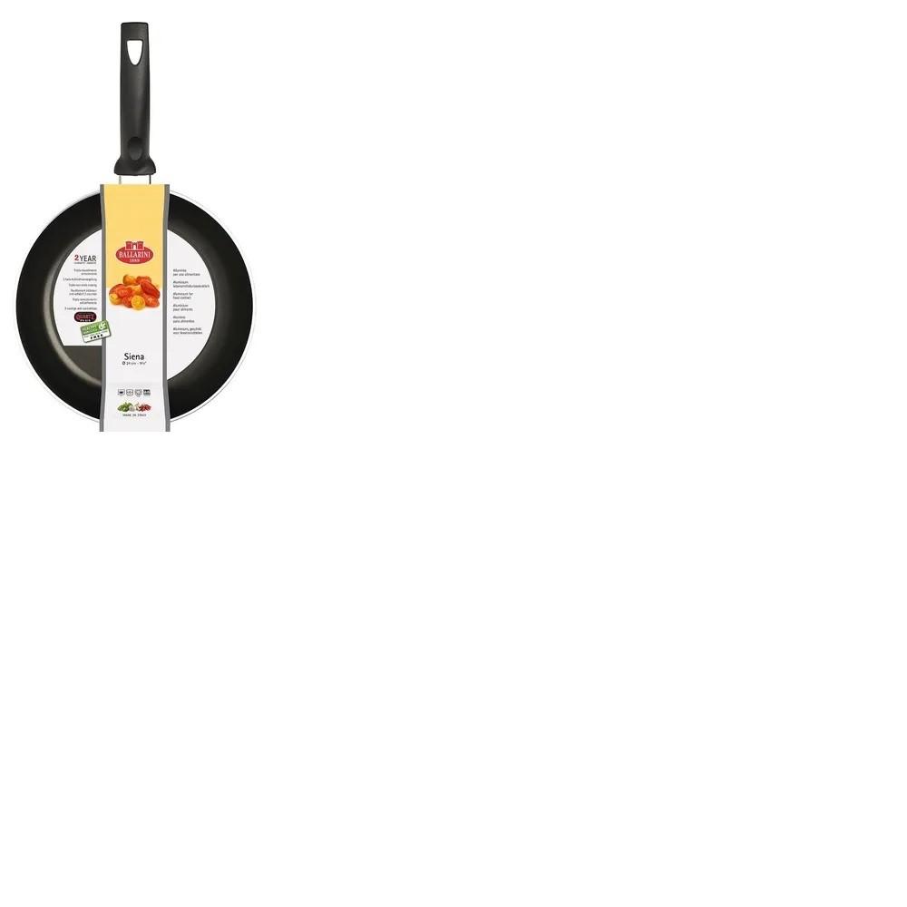 Frigideira Em Alumínio  Com Revestimento Siena 24 cm Preto Ballarini