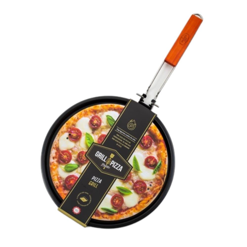 Grelha De Pizza Antiaderente 33 Cm - Prana