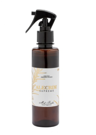 Home Spray De Ambientes E Tecidos - 250ml - Alecrim Supreme - Mels Brushes