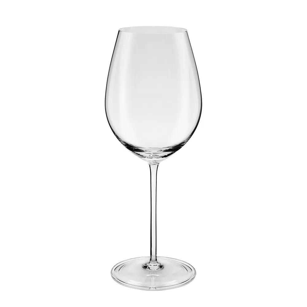 Jogo De 6 Taças De Cristal Vinho Bordeaux 720ml Oxford Crystal Handmade