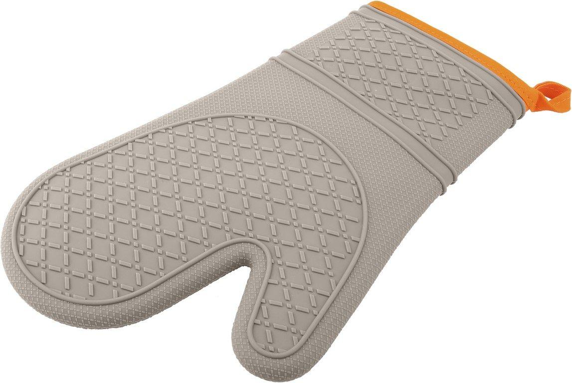Luva Térmica De Silicone E Tecido - Orange - Oxford