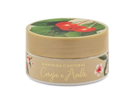 Manteiga Corporal Cereja E avelã - 200G - Mels Brushes