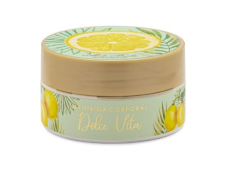 Manteiga Corporal Dolce Vita - 200G - Mels Brushes