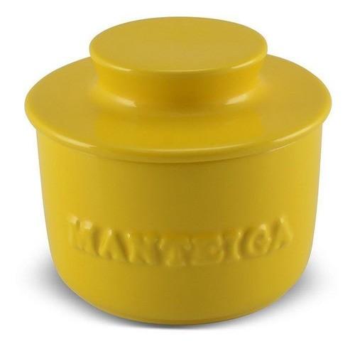 Manteigueira De Cerâmica 250GR Ceraflame Gourmet - Amarelo