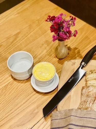 Manteigueira De Cerâmica 250GR Ceraflame Gourmet - Branca