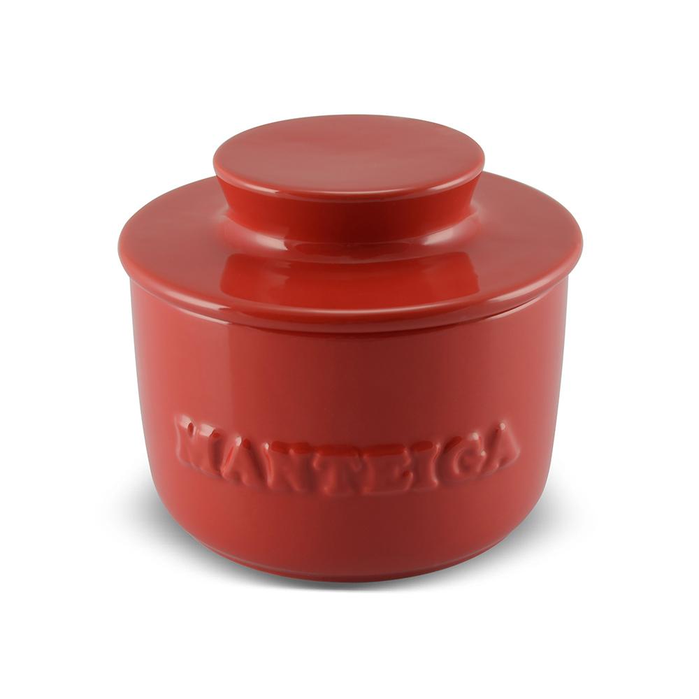 Manteigueira De Cerâmica 250GR Ceraflame Gourmet - Vermelha