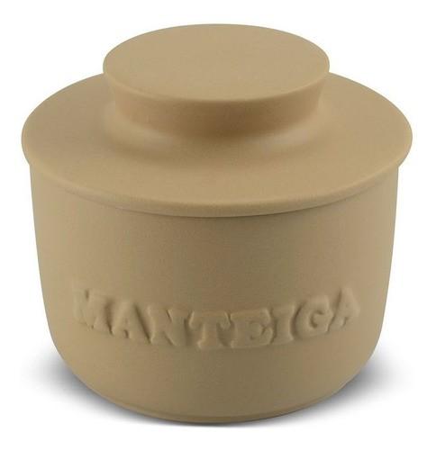 Manteigueira De Cerâmica  250Gr Ocre Ceraflame Origens
