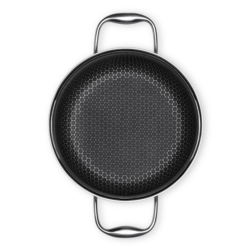 Panela Em Aço Inox 20cm 2,5 Litros CookingPro Hive Oxford