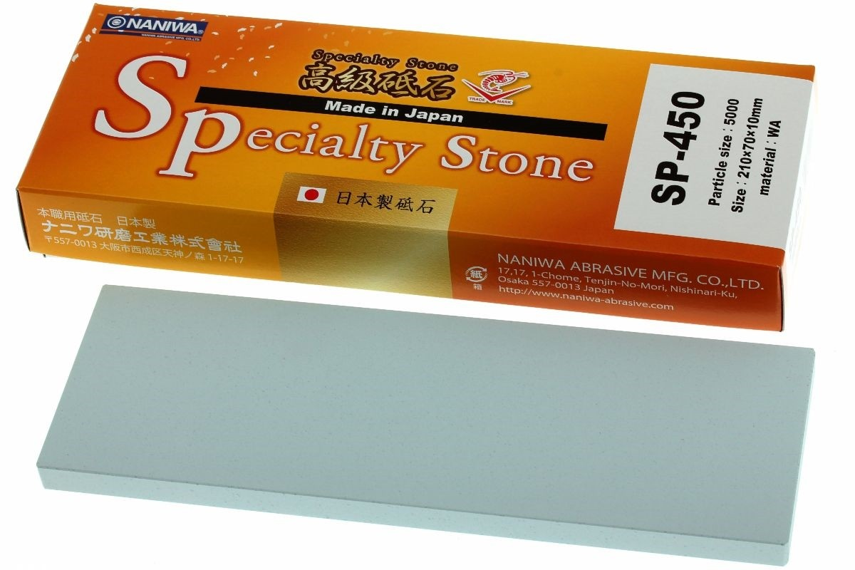Pedra para Afiar Japonesa Super Stone S1 Specialty 5000 - Naniwa