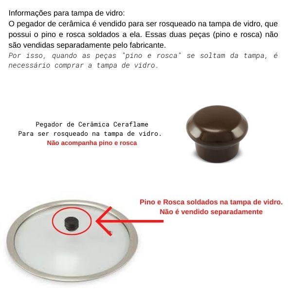 Pegador Para Caçarola Premiere Chocolate