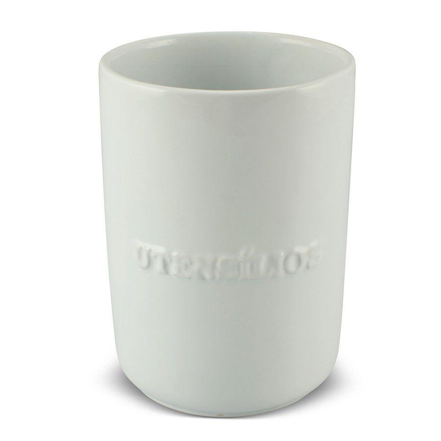 Porta Utensílio De Cerâmica 1300Ml Mondoceram Branco