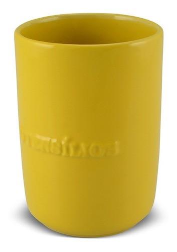 Porta Utensílios De Cerâmica 1300Ml Ceraflame Amarelo