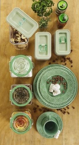Pote De Vidro 1,5 Litros P/ Mantimentos Oxford Porcelanas