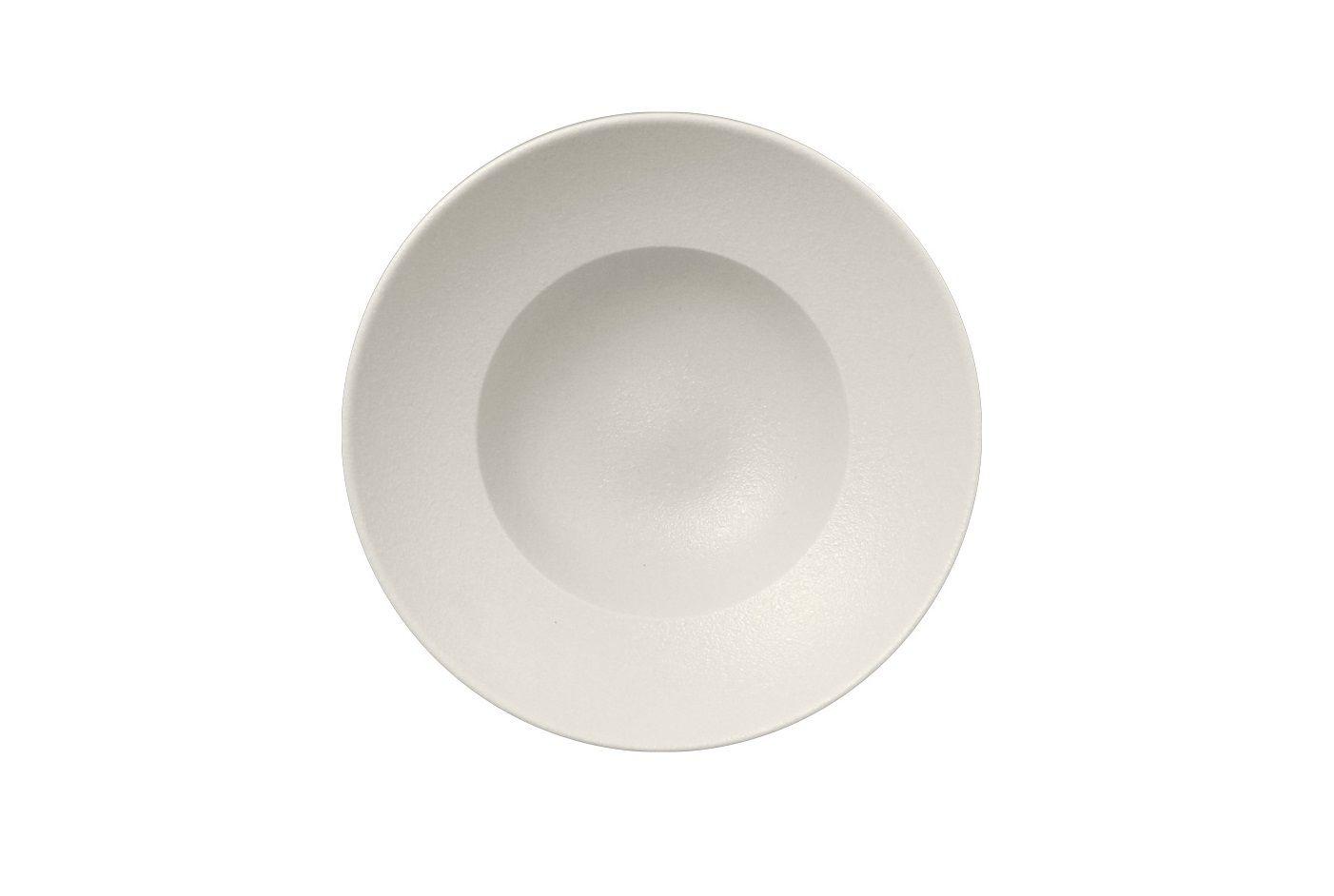 Prato de Porcelana Extra Fundo Redondo 26 Cm Branco - RAK Neo Fusion