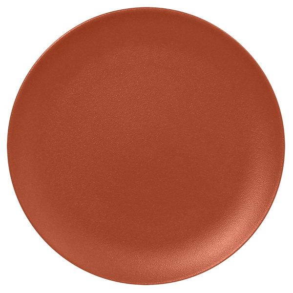 Prato de Porcelana Redondo Raso 29 Cm Terra - RAK Neo Fusion