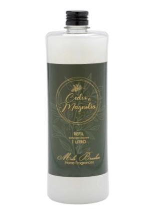 Refil Sabonete Perolado Cedro E Magnolia - 1Litro - Mels Brushes