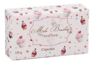 Sabonete Em Barra Cupcake - 150G - Mels Brushes