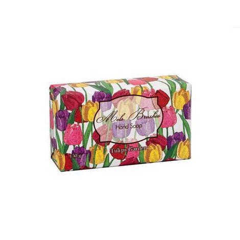Sabonete Em Barra Tulips Garden - 150G - Mels Brushes