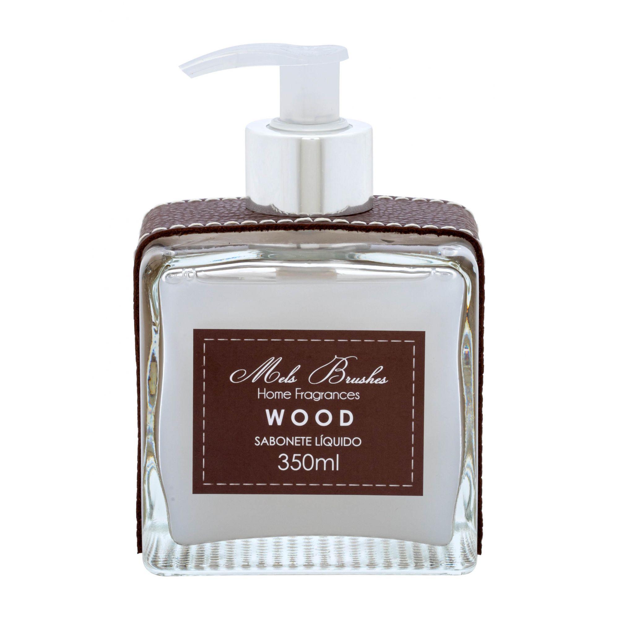 Sabonete Líquido 350 Ml Luxo - Wood - Mels Brushes