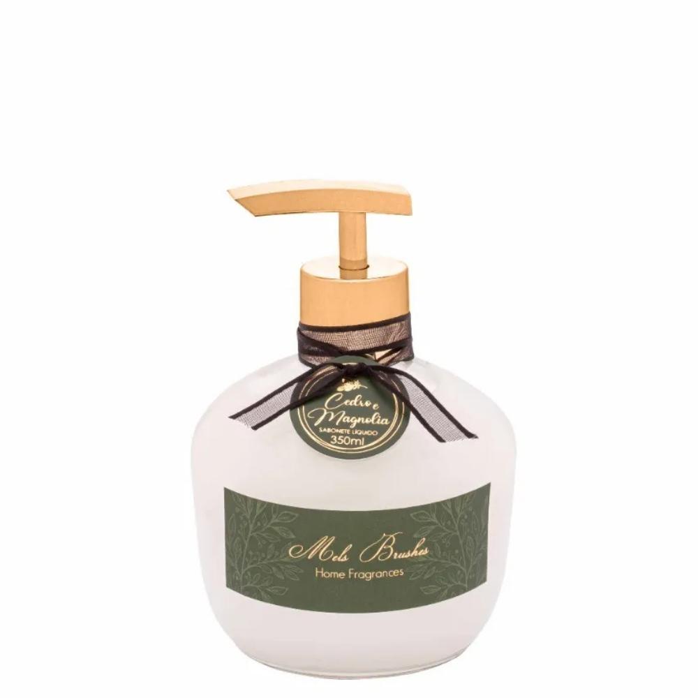 Sabonete Líquido Luxo Cedro E Magnolia 350 Ml Mels Brushes