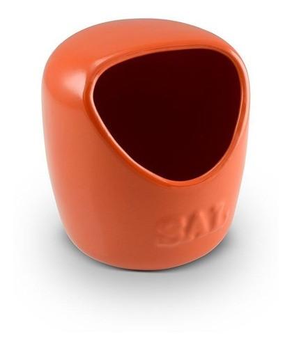 Saleiro De Cerâmica 650G Laranja Ceraflame