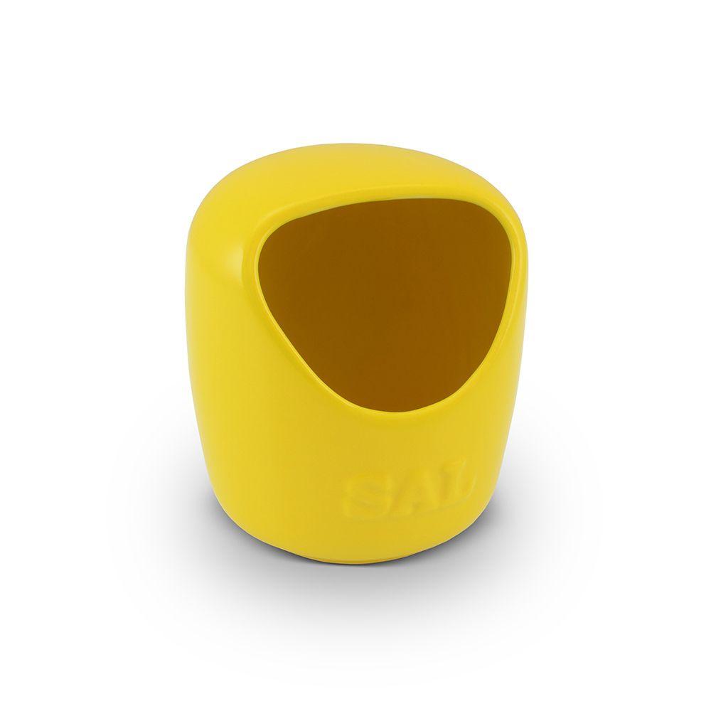 Saleiro De Cerâmica 650G Amarelo Mondoceram
