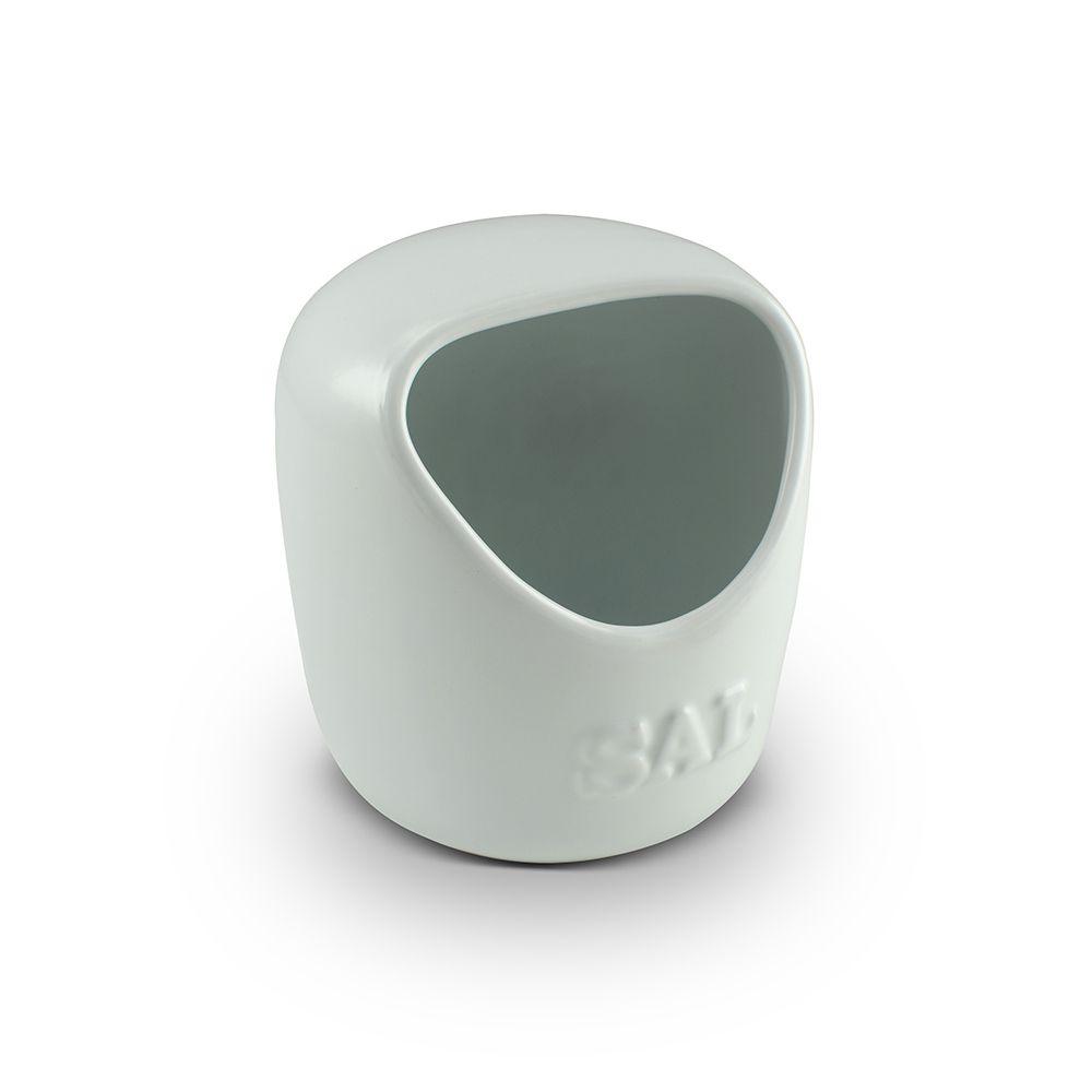 Saleiro De Cerâmica  650G Branco Mondoceram