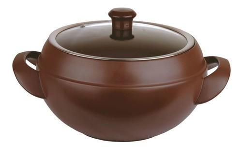 Sopeira De Cerâmica Ceraflame 24Cm 6000Ml Chocolate