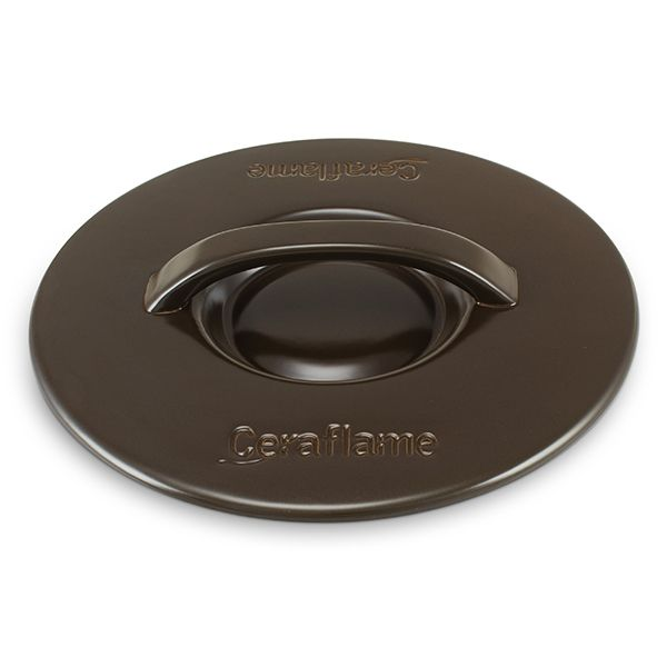 Tampa De Cerâmica Para Caçarola Ceraflame 20Cm Chocolate