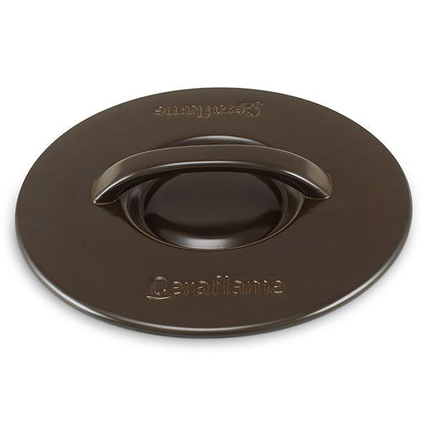 Tampa De Cerâmica Para Caçarola Ceraflame 28Cm Chocolate
