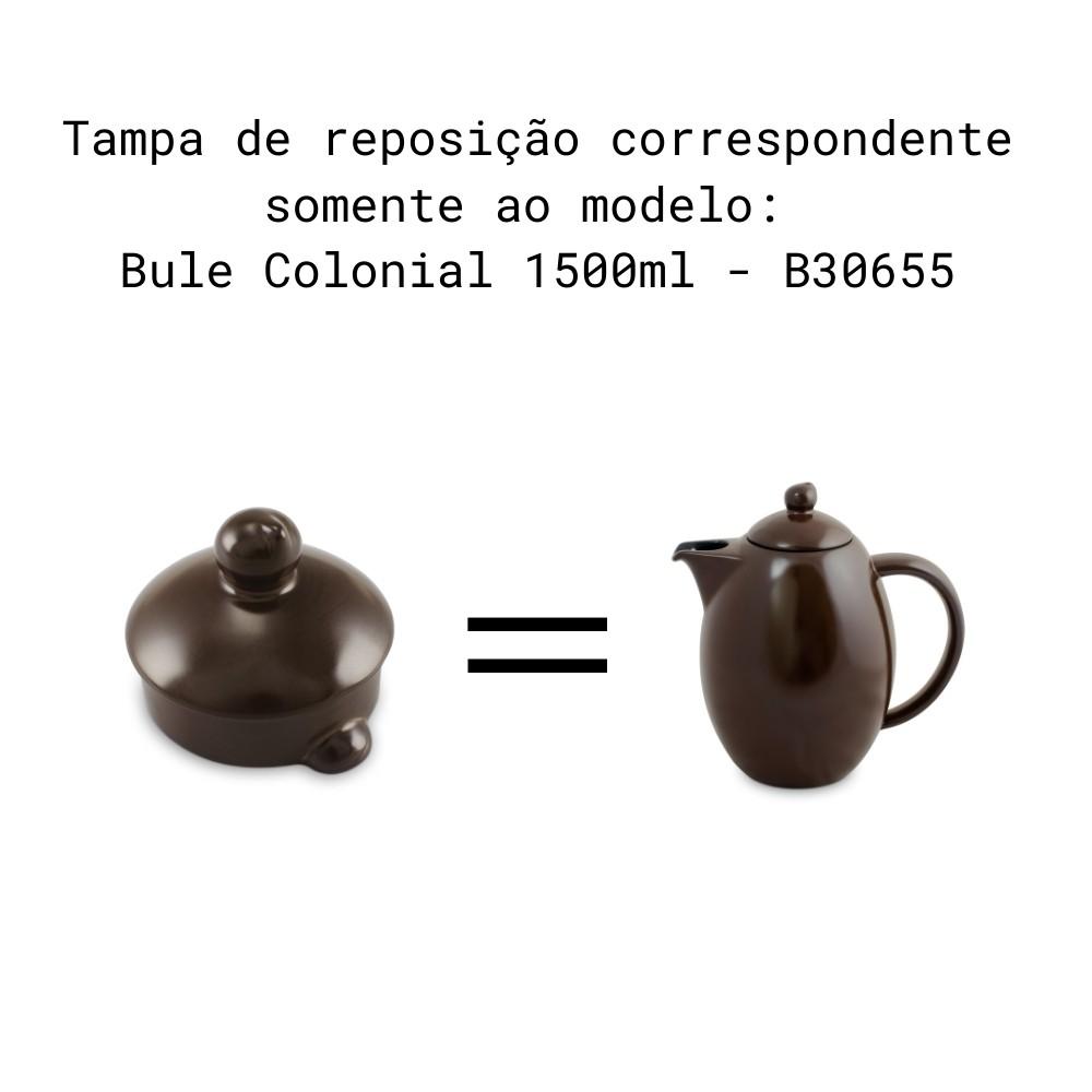 Tampa Para Bule Colonial Chocolate