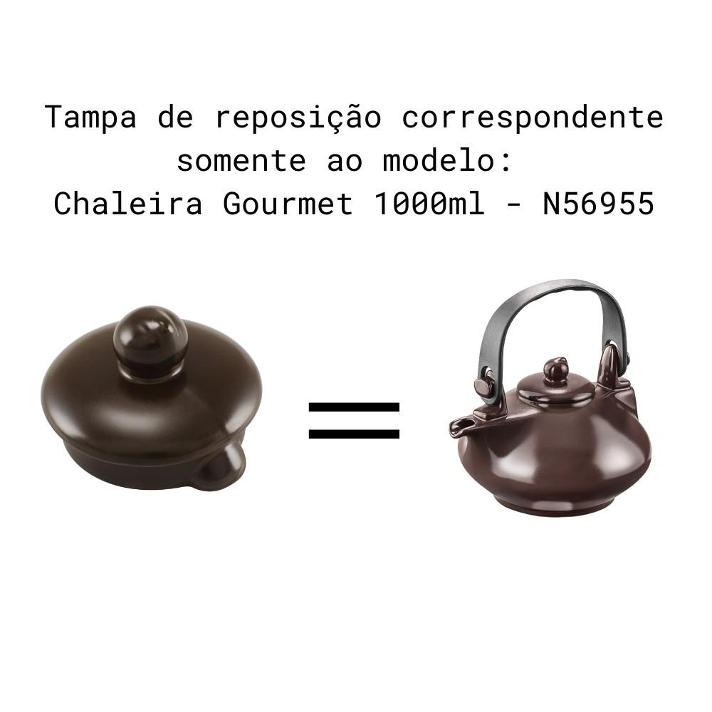 Tampa Para Chaleira Colonial E Chaleira Gourmet Chocolate