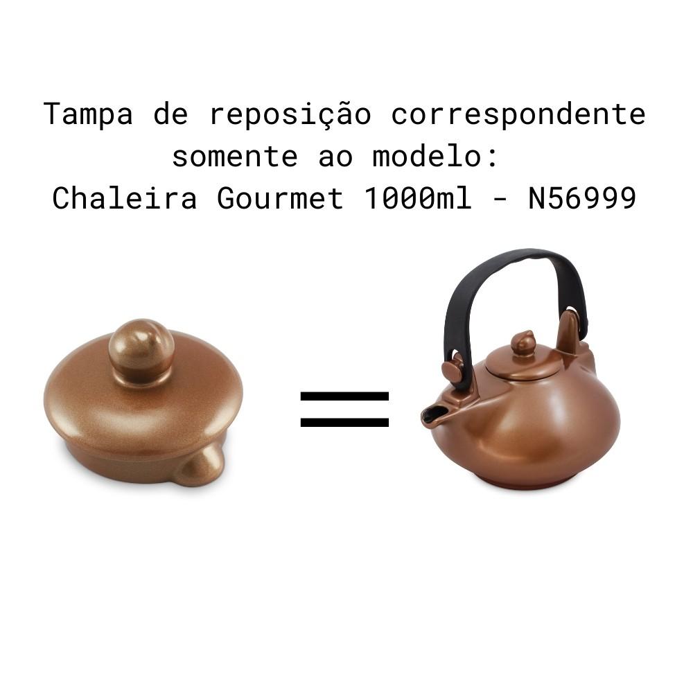 Tampa Para Chaleira Colonial E Chaleira Gourmet Cobre